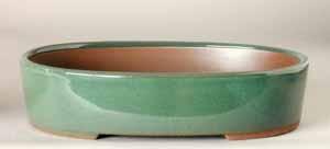 """6.5"""" G. Oval Houtoku Pot # 1266A"""
