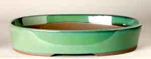 """10.25"""" G. Oval Houtoku Pot # 478B"""