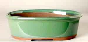 """5.75"""" G. Oval Houtoku Pot # 71A"""