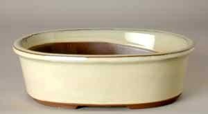 """5.75"""" G. Oval Houtoku Pot # 73A"""