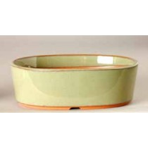 "4.0"" G. Oval Houtoku Pot # 1250A"