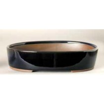"6.5"" G. Oval Houtoku Pot # 1264A"