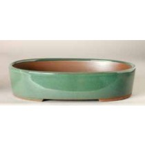"6.5"" G. Oval Houtoku Pot # 1266A"