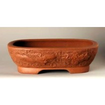 "Dragon Design 9.75"" Tokoname Pot # 23F1"