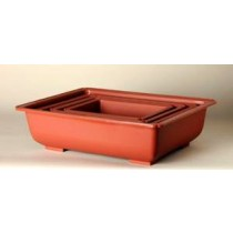 "Japanese Plastic Pot, 9.75"" x 6.75"" x 2.75"""