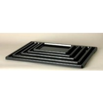 "Japanese Deluxe Plastic Tray,18.25"" x 13.75"" x .75"