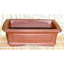 brown square pot