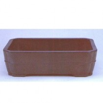"14.75"" Rectangle Mica Pot, MP RED-13"