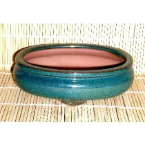 Green Oval Pot