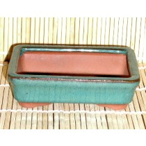green mame rectangular pots
